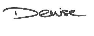Denise Unterschrift
